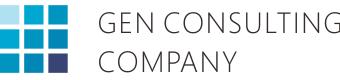 Gen Consulting Company Logo- Market Study Rport